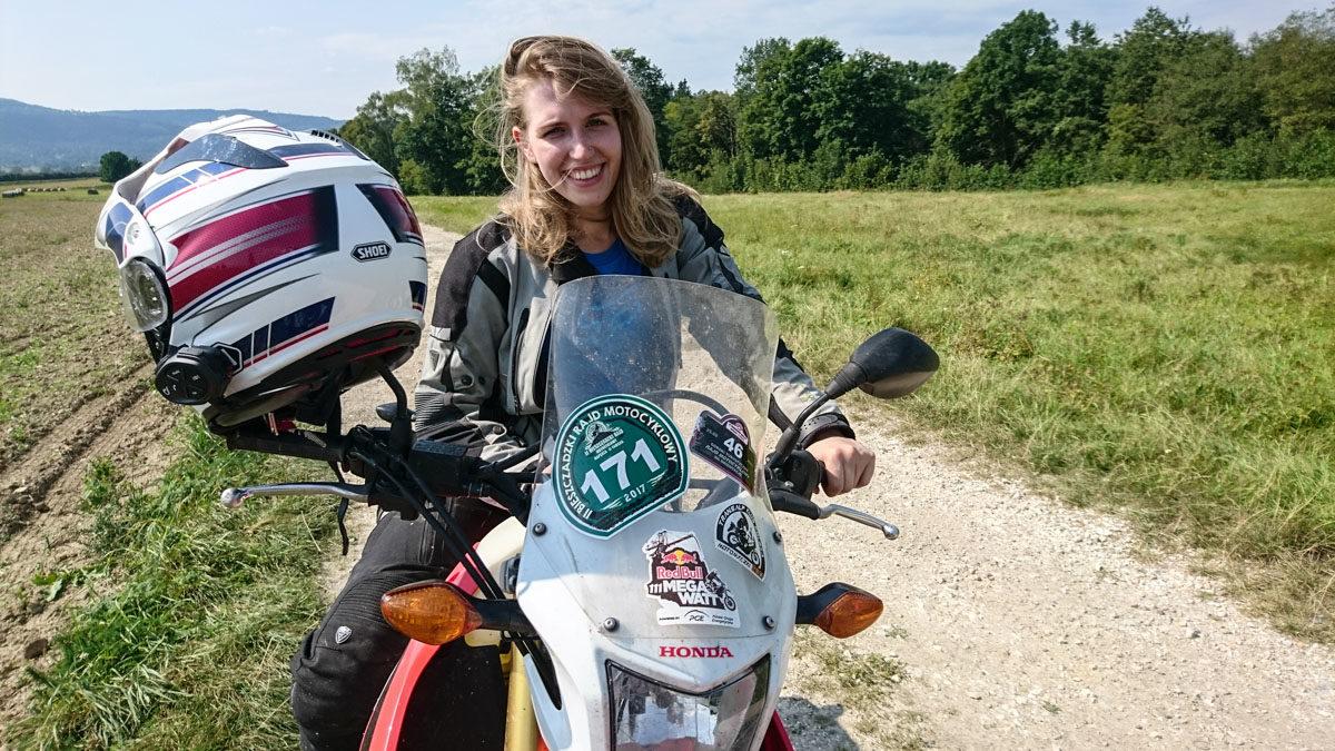 #VR46 Valentino Rossi? Nie, to tylko Martusia na V Paszków Rally!