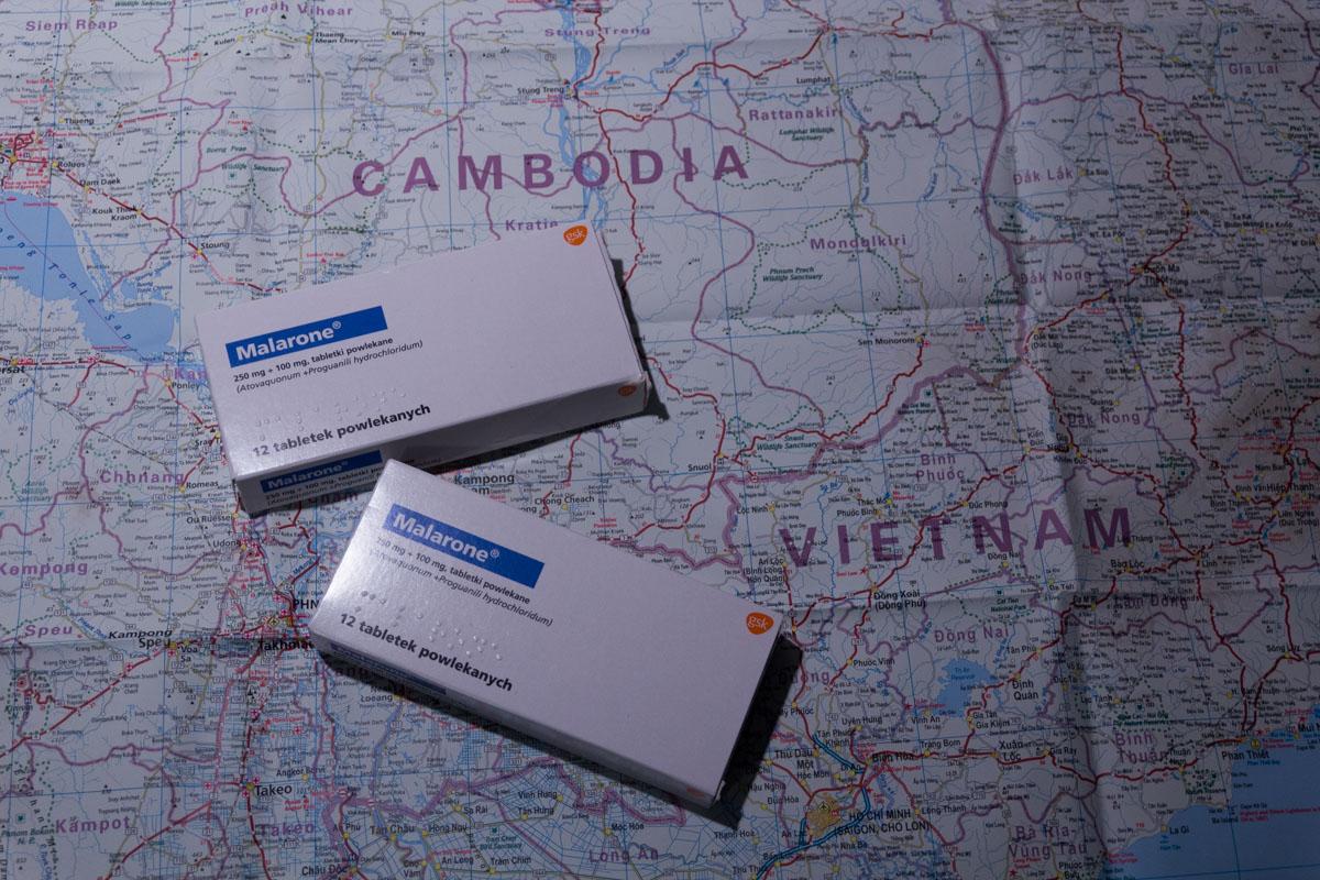 medycyna podróży tabletki przeciwmalaryczne