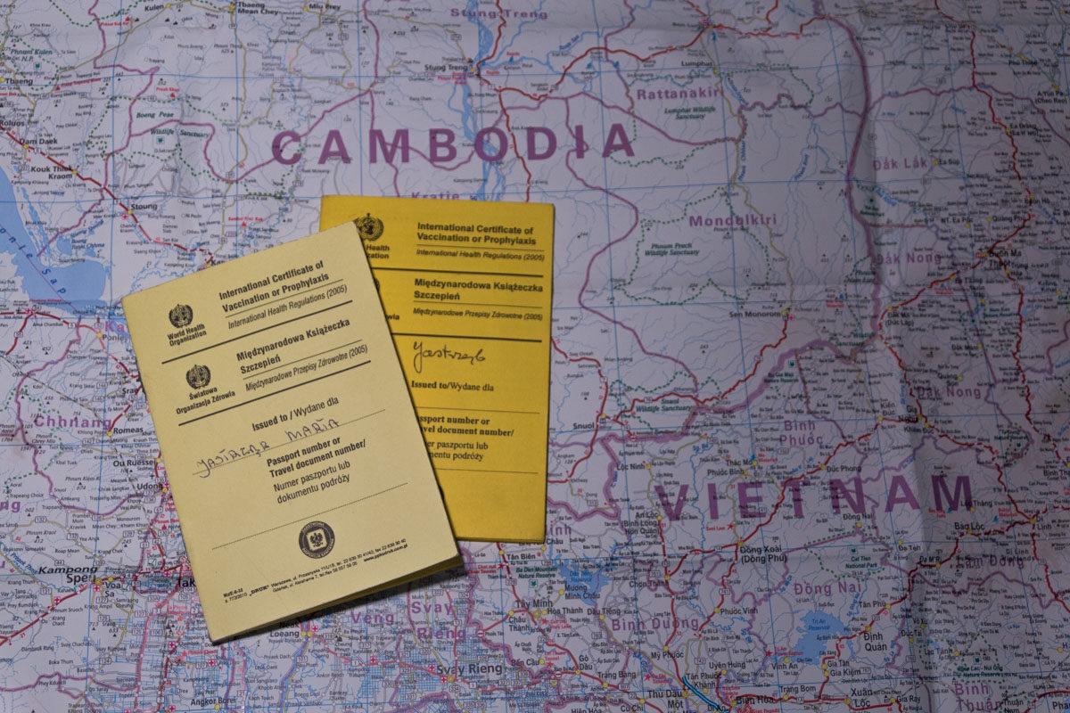 medycyna podróży międzynarodowa książeczka szczepień
