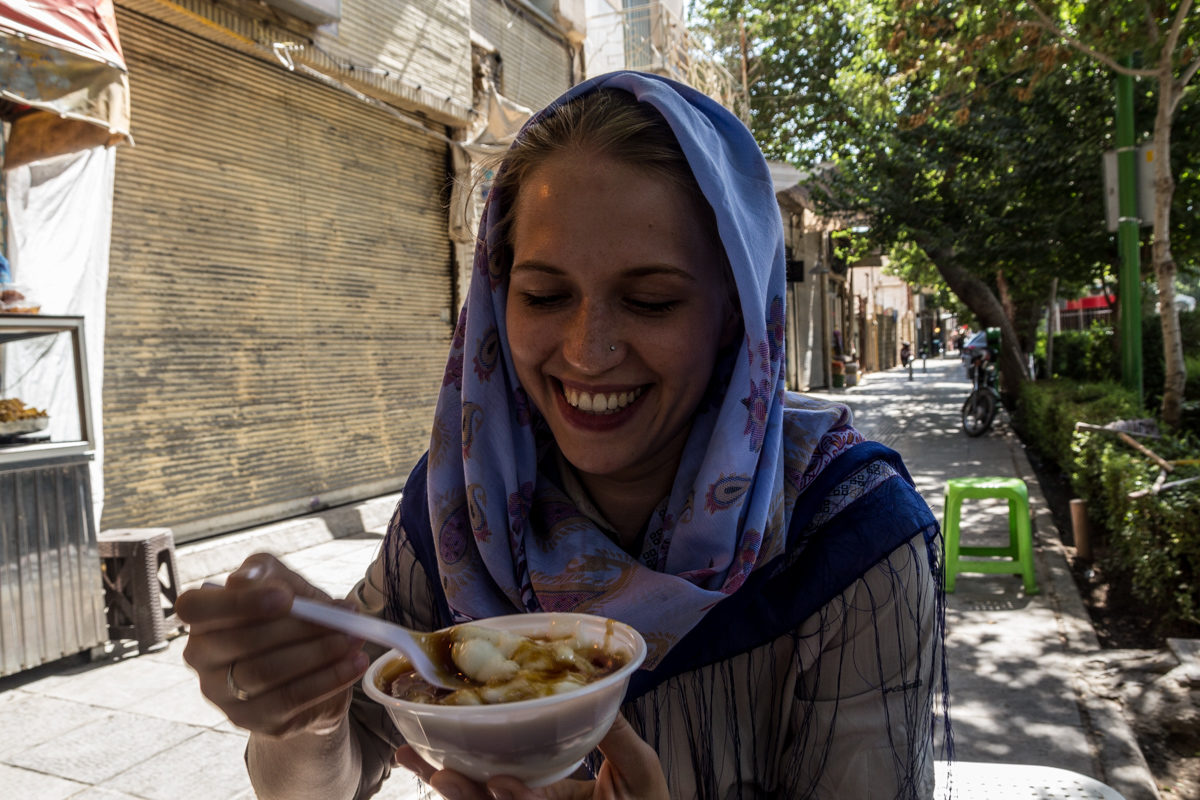 Welcome to Iran!